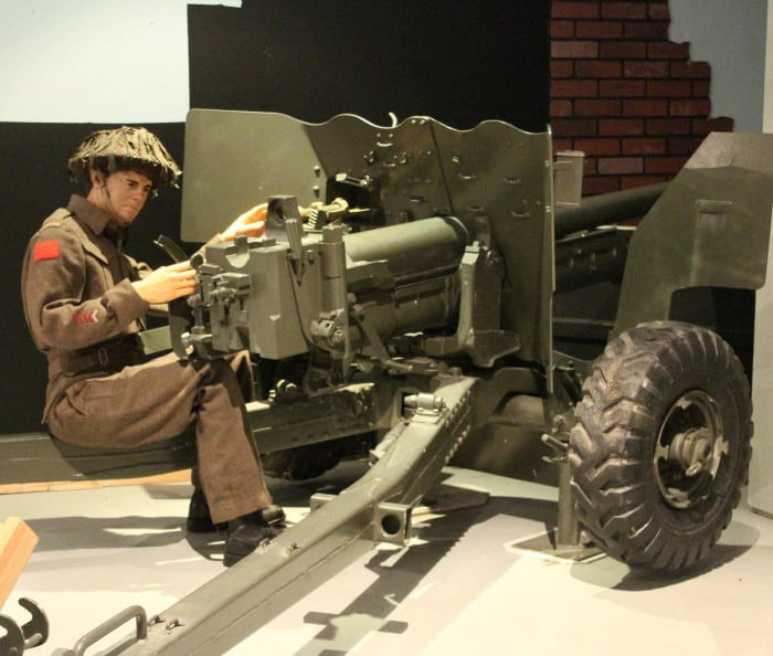 6 Pounder C MKII Anti-Tank Gun UK