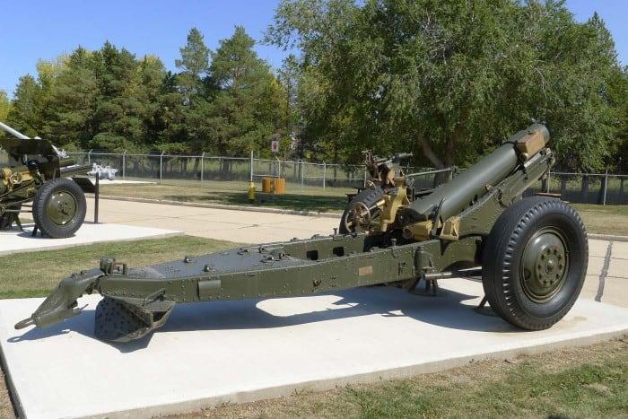 6 Inch 26 CWT MK1 Howitzer UK