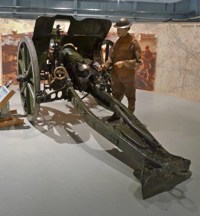 4.5 Inch Quick Firing Howitzer