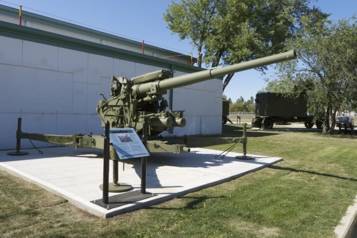 3.7 Inch MKII Anti-Aircraft Gun UK