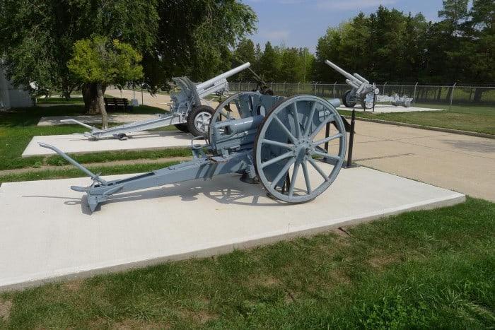 7.7cm Feldkanone 96 NA MOD 1896