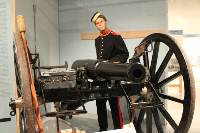 9 Pounder Rifled Gun