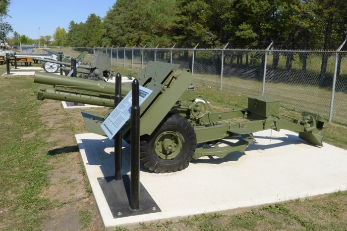 95MM INF Howitzer MKII UK
