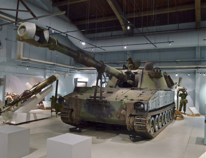 M109 A4+ 155MM Self Propelled Howitzer | | The RCA Museum