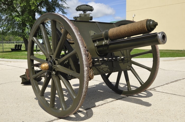 13 Pounder Quick Firing Gun