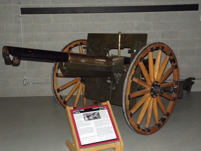 French 75mm Field Gun