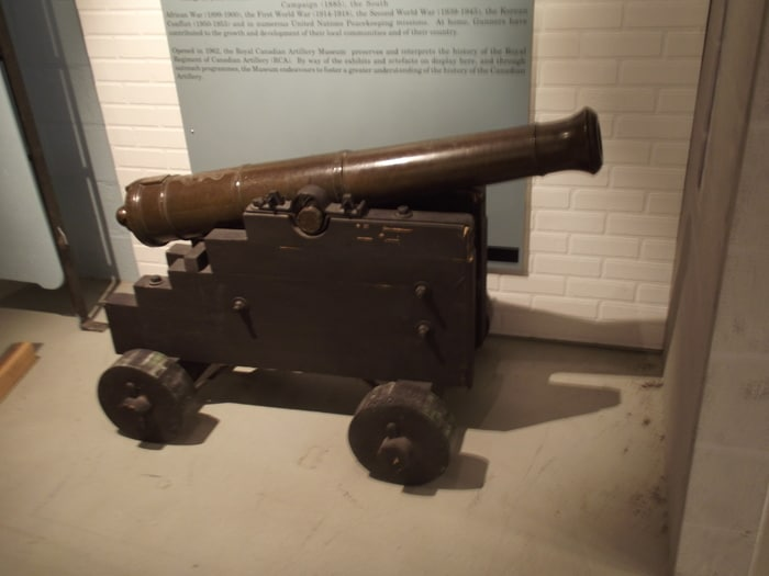 3 Pounder Smooth Bore Gun