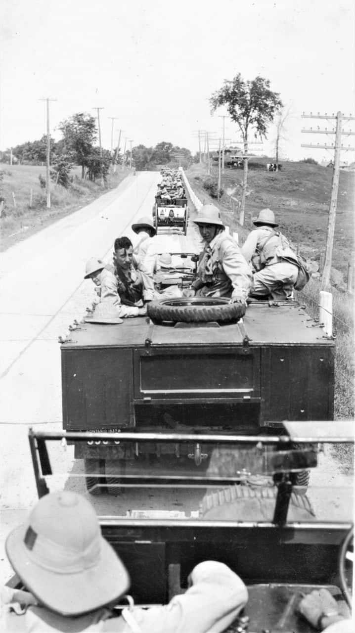 1937-On-Convoy-at-Petawawa