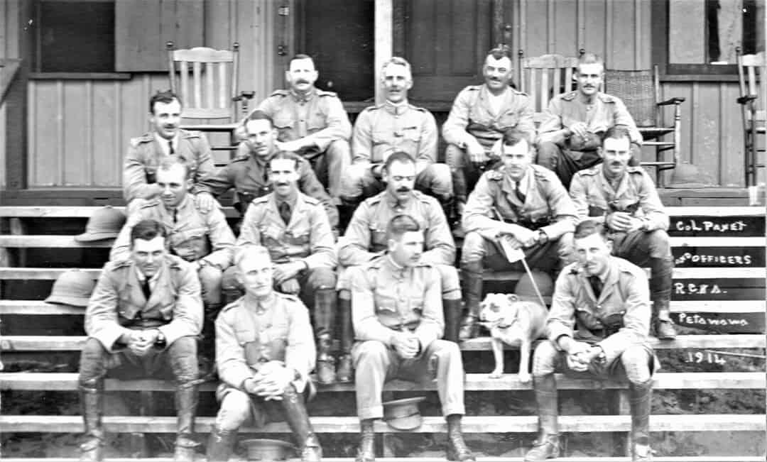 2.-1914-Officers-of-A-Battery-Petawawa