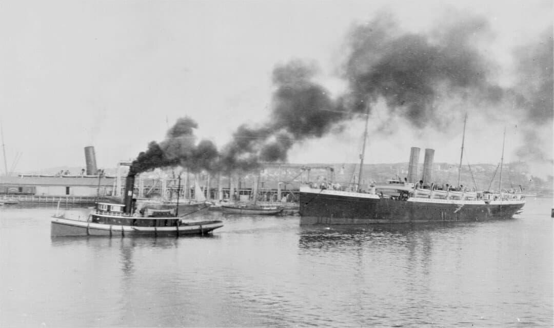 4.-1914-26-Sept-Carribean-leaving-Quebec