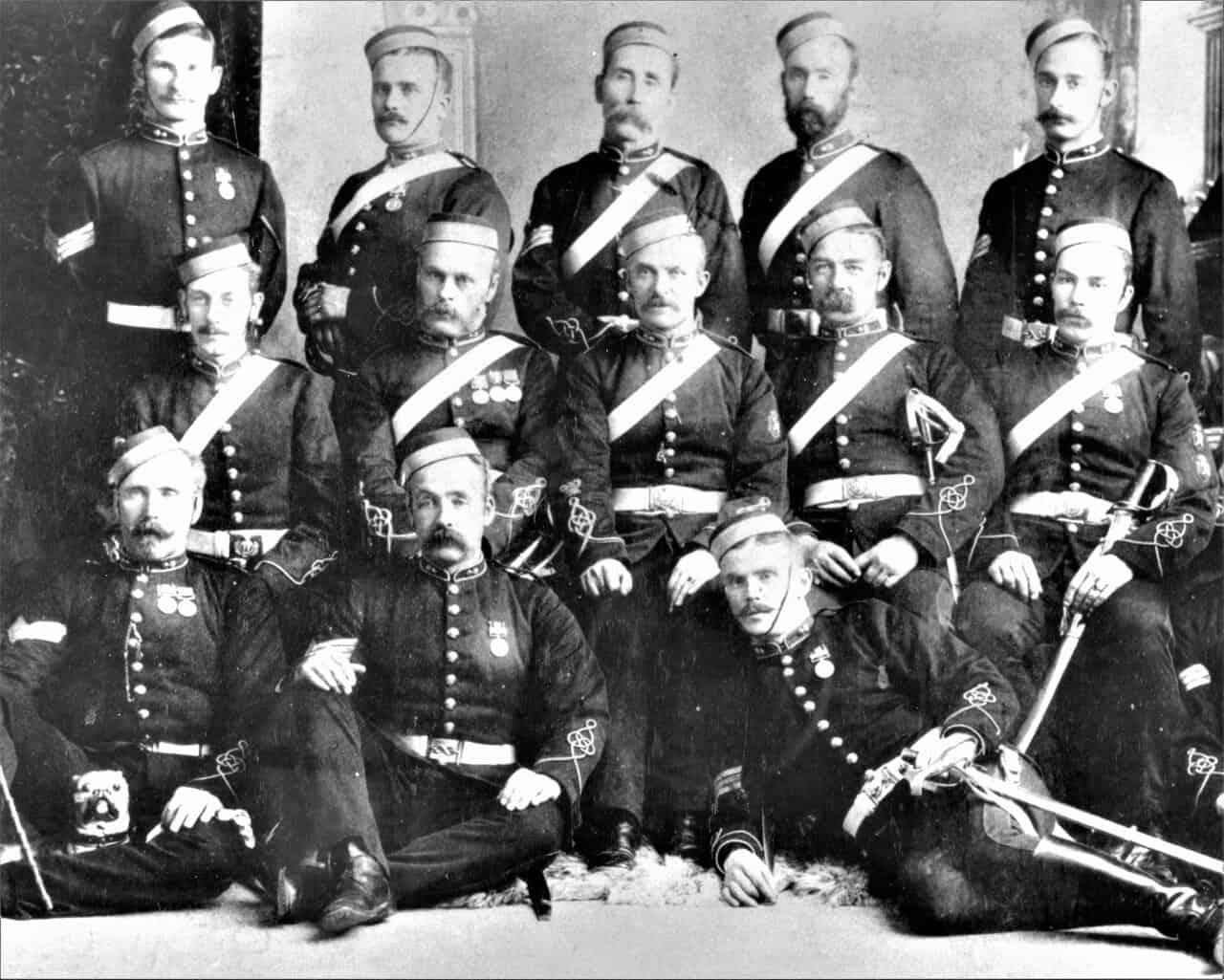 1887-Staff-Sergeants-and-Sergeants-A-Battery