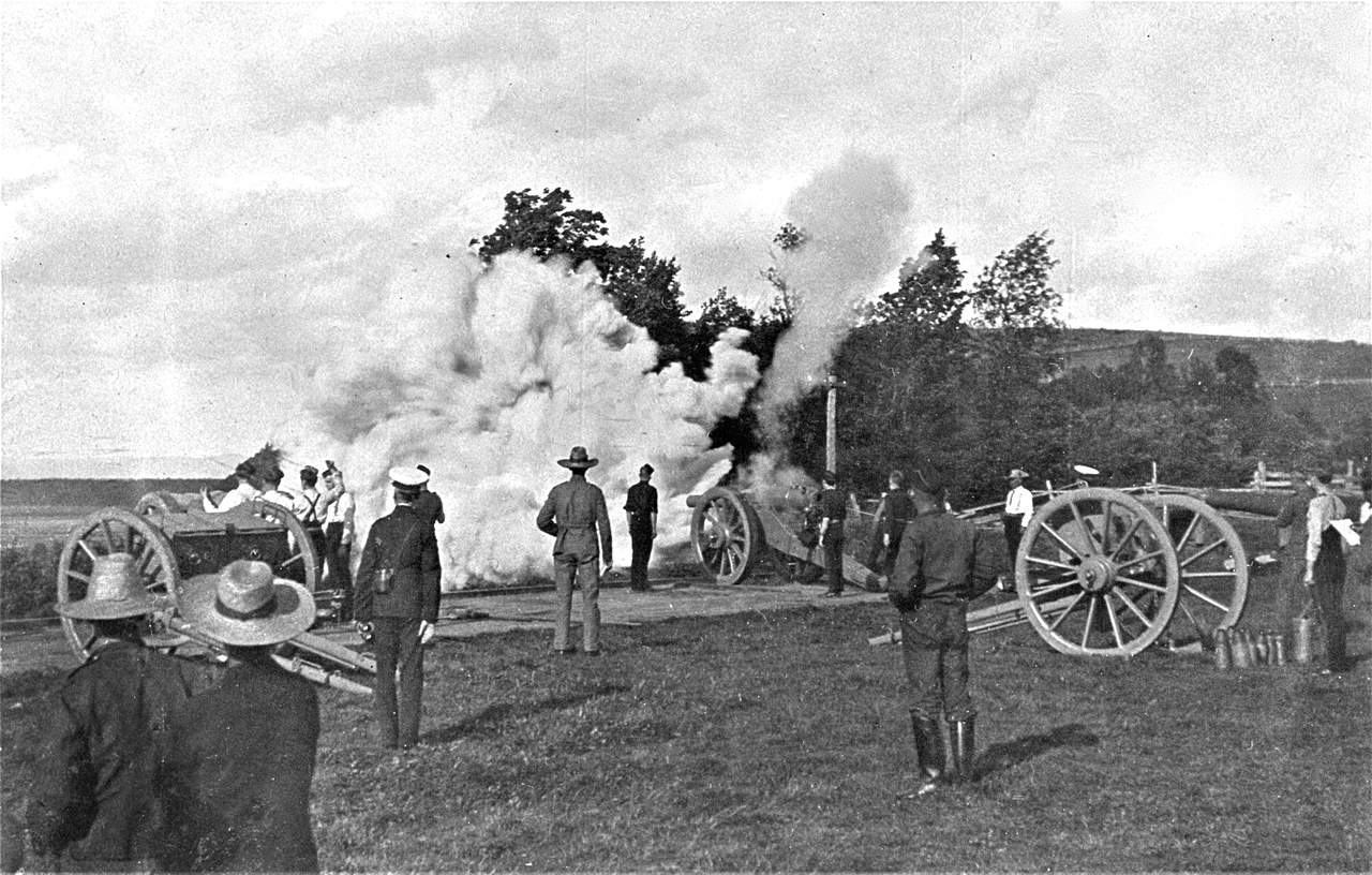 1904-Dominion-of-Canada-Artillery-Association-Practice-Camp-Ile-dOrleans-Quebec