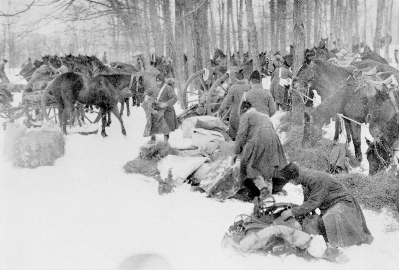1910-A-Battery-RCHA-Winter-Exercise-Kingston