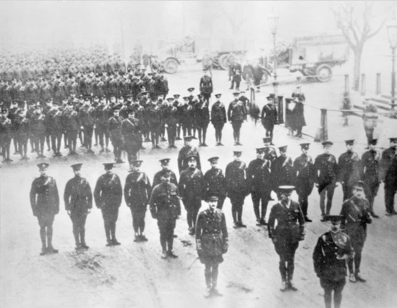 1914-1st-Brigade-Canadian-Field-Artillery-CEF-England