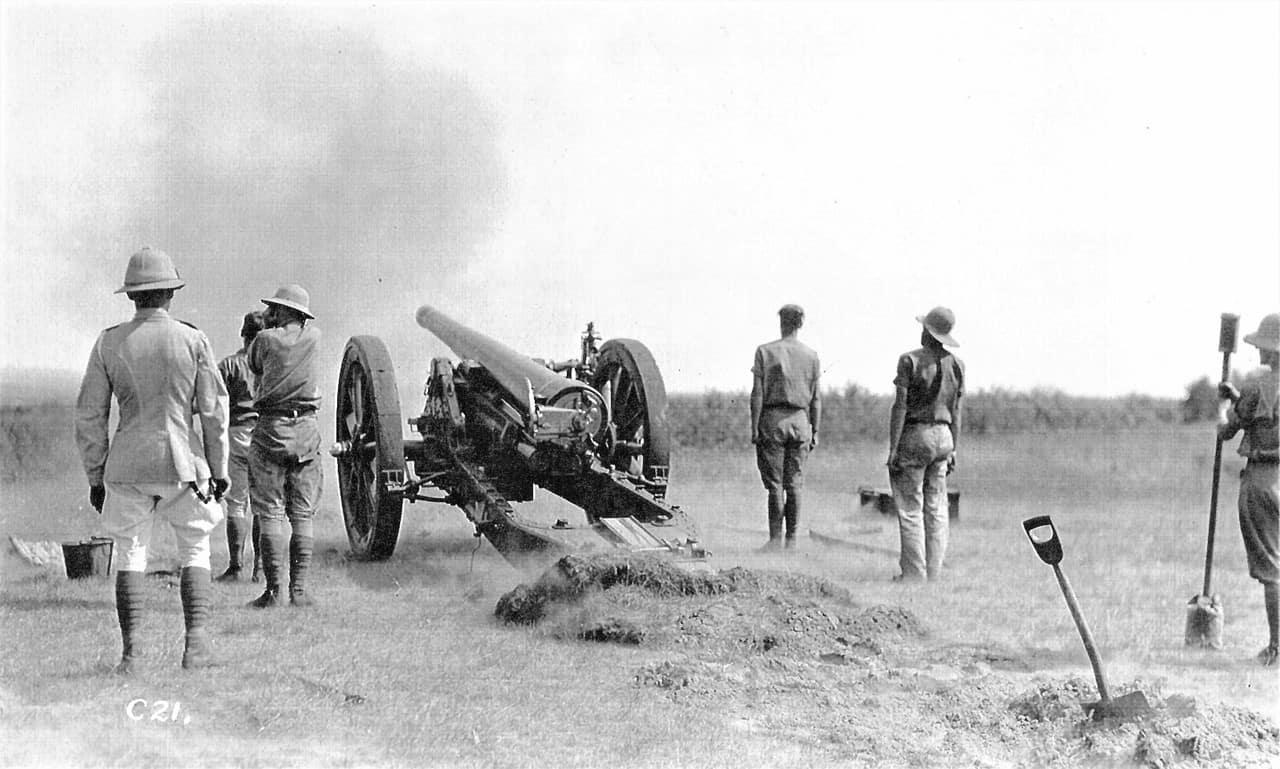 1937-Artillery-Training-60-Pounder-Petawawa