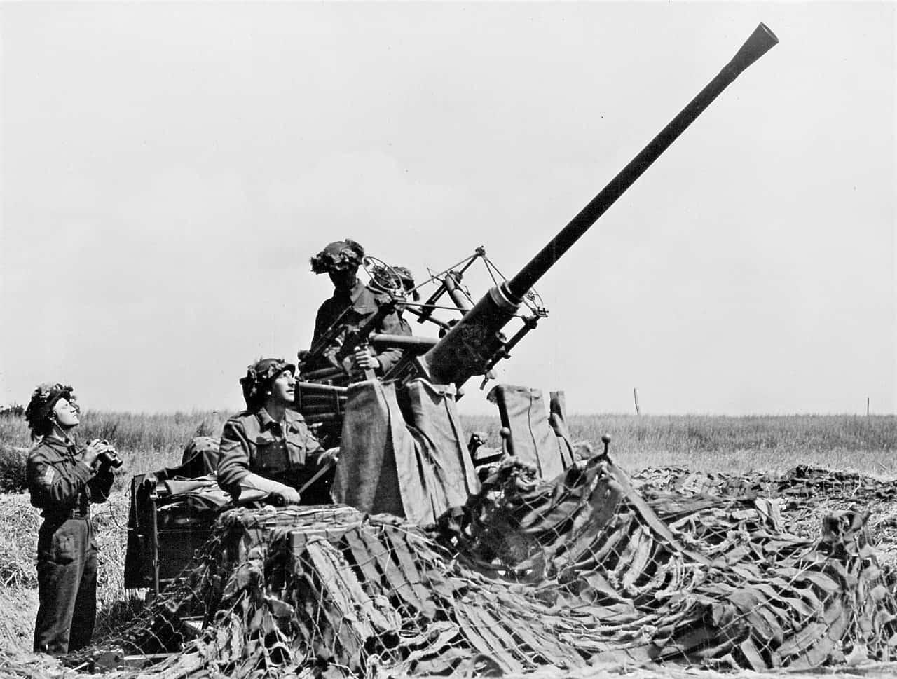 1944-40mm-Bofors-Detachment-France
