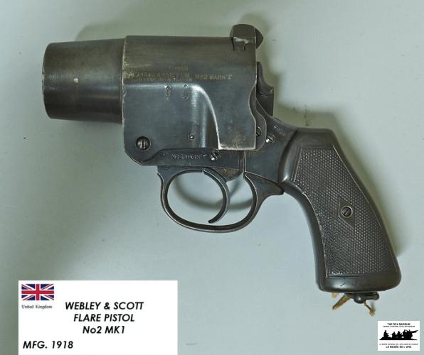 Webley-and-Scott-Flare-Pistol